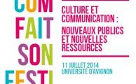 Culture et Communication :  nouveaux publics et nouvelles ressources